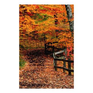 Autumn Mccormick Creek State Park Indiana Custom Stationery
