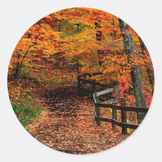 Autumn Mccormick Creek State Park Indiana Sticker