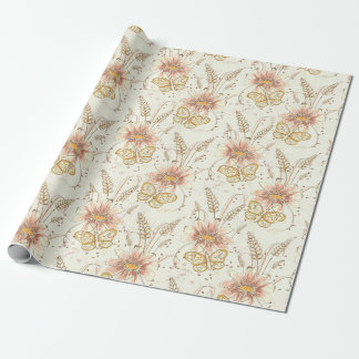 Autumn Meadow Wrapping Paper