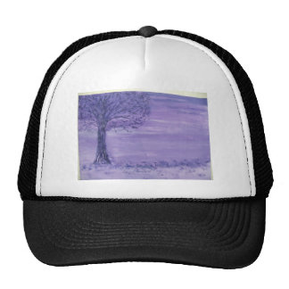 Autumn Mists with Oak Tree Mesh Hats