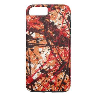 AUTUMN MIX (an abstract art design) ~ iPhone 7 Plus Case