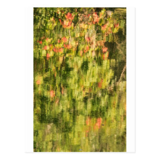 Autumn Monet Postcard
