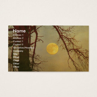Autumn Moon Business Card