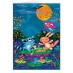 Autumn Moon Greeting Cards
