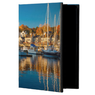 Autumn Morning In The Camden Harbor, Camden 2 iPad Air Covers