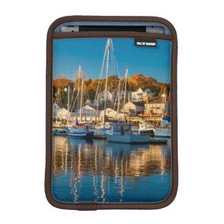 Autumn Morning In The Camden Harbor, Camden 2 iPad Mini Sleeve