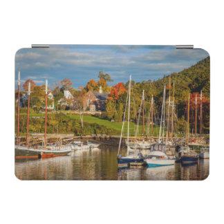 Autumn Morning In The Camden Harbor, Camden iPad Mini Cover