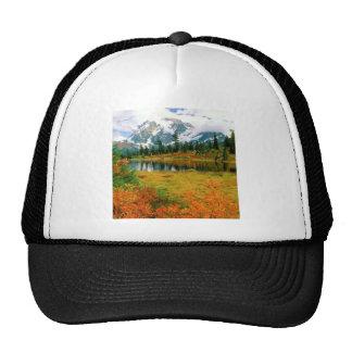 Autumn Mount Shuksan North Cascades Trucker Hat