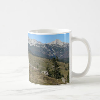 Autumn mountan view coffee mug
