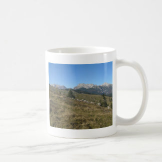 Autumn mountan view coffee mugs