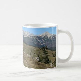 Autumn mountan view coffee mug