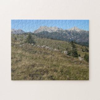Autumn mountan view puzzle