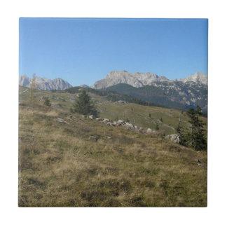 Autumn mountan view tiles