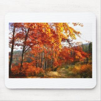 autumn mouse mat