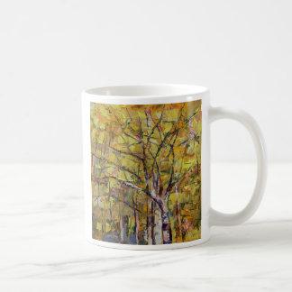Autumn Basic White Mug