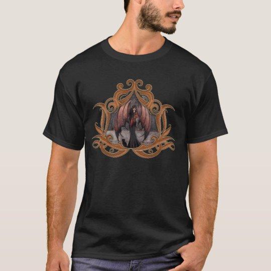 Autumn Mystique Gothic Fairy Vampire Cat T-Shirt
