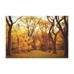Autumn - New York City Gallery Wrap Canvas