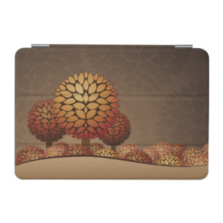 Autumn Night Landscape. Abstract iPad Mini Cover