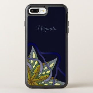 Autumn Night - with Name or Text - OtterBox Symmetry iPhone 8 Plus/7 Plus Case