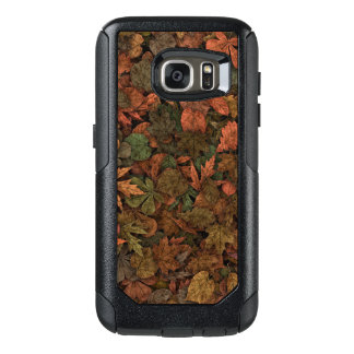 Autumn Oak Leaves Camouflage Greens & Golds Rust OtterBox Samsung Galaxy S7 Case