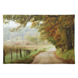 Autumn on a Country Road Placemat