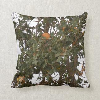 Autumn on an Oak Tree Throw Cushions