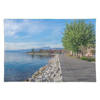 Autumn on Lake Garda placemat