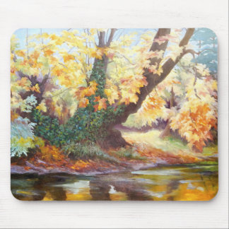 Autumn on the Darent 1999 Mouse Pad