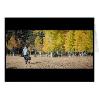 Autumn on the Kiabab Plateau Stationery Note Card