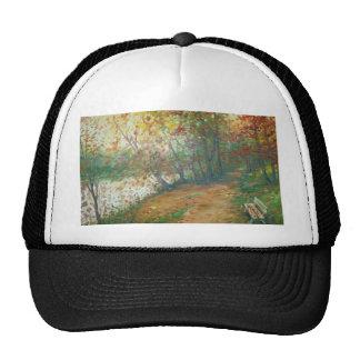 Autumn on the river cap