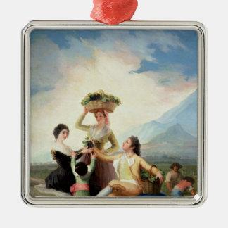 Autumn, or The Grape Harvest, 1786-87 Christmas Ornament