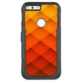 Autumn Orange Color Pattern OtterBox Commuter Google Pixel XL Case