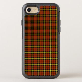 Autumn orange yellow and black stripe OtterBox symmetry iPhone 8/7 case