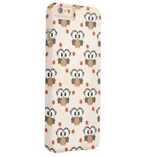 Autumn Owl Barely There iPhone 6 Plus Case