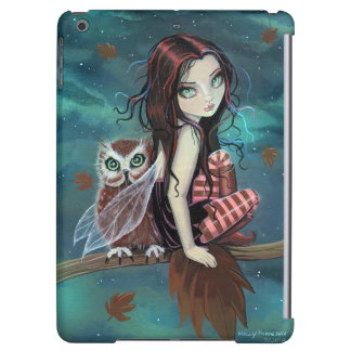 Autumn Owl Fairy Fantasy Art