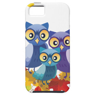 Autumn Owl family iPhone 5 Covers