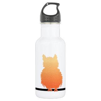 Autumn Owl Silhouette 532 Ml Water Bottle