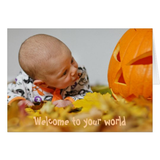 Autumn Pagan New Baby Card