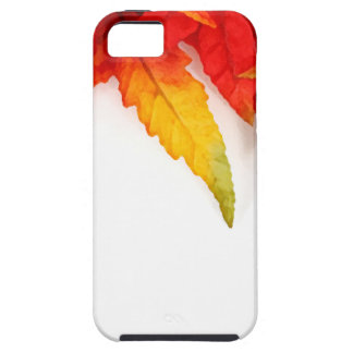 Autumn Painterly Leaf Tough iPhone 5 Case