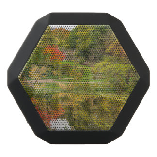 Autumn park black bluetooth speaker