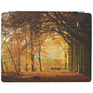 Autumn park iPad cover