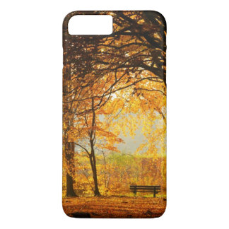 Autumn park iPhone 8 plus/7 plus case