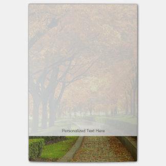 Autumn Park Post-it® Notes
