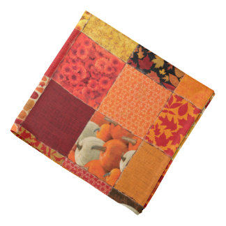 Autumn Patchwork Bandana