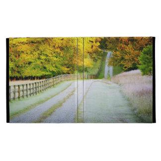 Autumn Path iPad Folio Case