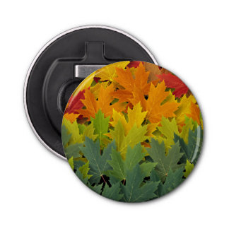 Autumn Pattern 2 Bottle Opener
