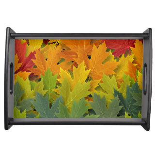 Autumn Pattern 2 Serving Tray