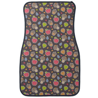 autumn pattern car mat