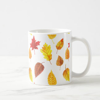 Autumn pattern coffee mug