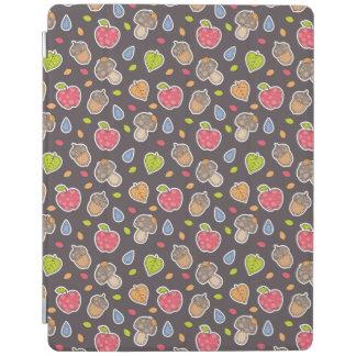 autumn pattern iPad cover